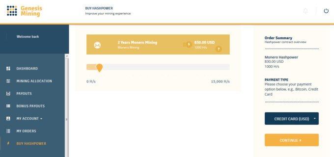 Buy Cloud Mining With Credit Card Genesis Mining Promo Code 4